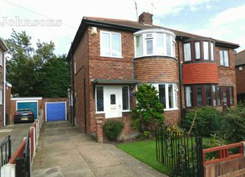 Thumbnail 3 bed semi-detached house for sale in Grenville Road, Balby, Doncaster.