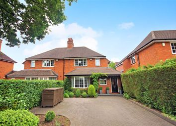 Thumbnail 3 bed semi-detached house for sale in Hole Lane, Bournville, Birmingham