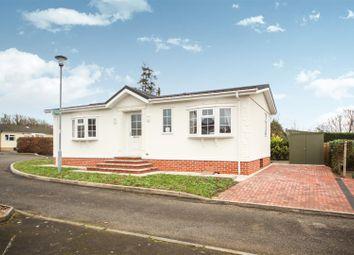 Thumbnail 2 bed mobile/park home for sale in Parklands, Evesham