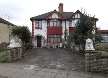 Thumbnail 3 bed semi-detached house for sale in Bury Hall Villas, Great Cambridge Road, London