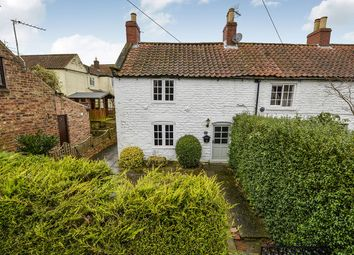 Thumbnail 1 bed terraced house for sale in Burythorpe, Malton
