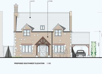 Thumbnail 4 bed detached house for sale in Church Lane, Edith Weston, Oakham