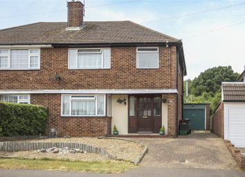 Thumbnail 3 bedroom semi-detached house for sale in Springfield Crescent, Harpenden, Hertfordshire