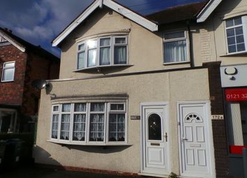 Thumbnail 2 bed maisonette for sale in Jockey Road, Sutton Coldfield