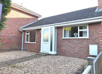 Thumbnail 2 bed bungalow for sale in Owl End Walk, Yaxley, Peterborough, Cambridgeshire.