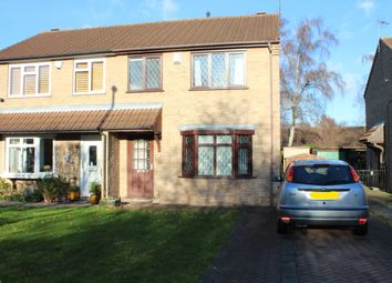 Thumbnail 3 bed semi-detached house for sale in Locking Close, Lincoln