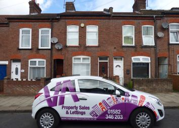 Thumbnail 3 bedroom terraced house to rent in Frederick Street, Luton