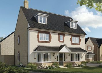 """Thumbnail 5 bedroom detached house for sale in """"Warwick"""" at Beauchamp Avenue, Midsomer Norton, Radstock"""