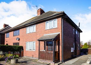 Thumbnail 4 bed semi-detached house for sale in Elms Road, Coton-In-The-Elms, Swadlincote