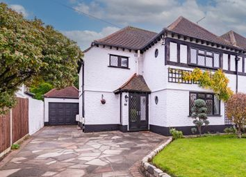 Thumbnail 3 bed semi-detached house for sale in Ladywood Avenue, Petts Wood, Orpington