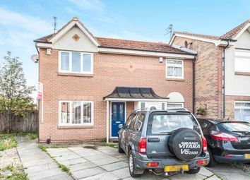 Thumbnail 3 bed end terrace house for sale in Brecongill Close, Hartlepool