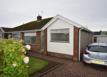 Thumbnail 3 bed semi-detached bungalow for sale in Greystoke Gardens, Barrow-In-Furness, Cumbria