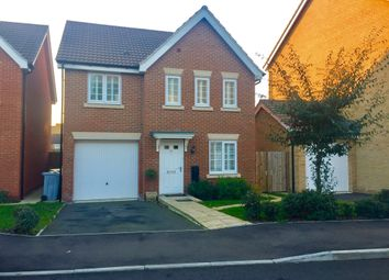 Thumbnail 4 bed detached house for sale in Bradley Drive, Grantham