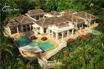 Thumbnail 3 bedroom property for sale in Sugar Beach, The Residences - St.Lucia, Soufriere