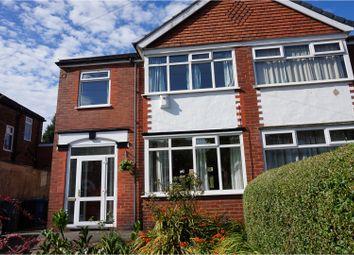 Thumbnail 3 bedroom semi-detached house for sale in Castleton Avenue, Manchester