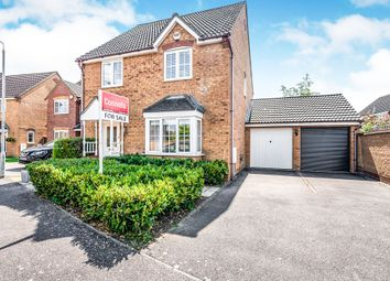 Thumbnail 4 bedroom detached house for sale in Hockley Court, Marston Moretaine, Bedford