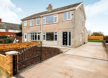 Thumbnail 3 bed semi-detached house for sale in Manor Road, Goole