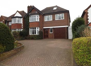 Thumbnail 5 bedroom detached house for sale in Manor Road, Solihull, West Midlands