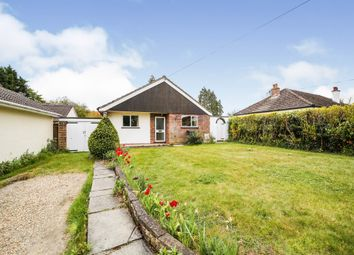 Thumbnail 2 bed detached bungalow for sale in Station Road, Whittlesford, Cambridge