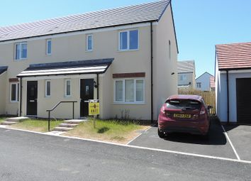 Thumbnail 3 bed end terrace house to rent in 7 Turnberry Close, Hubberston, Milford Haven