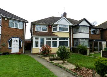 Thumbnail 3 bed semi-detached house for sale in Meriden Drive, Kingshurst, Birmingham