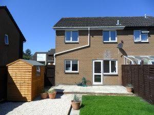 Thumbnail 1 bed semi-detached house to rent in Bracken Close, Carterton