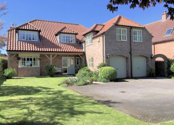 Thumbnail 4 bed detached house for sale in The Garden House, Claypole Road, Stubton, Newark