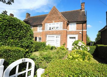 Thumbnail 4 bed semi-detached house to rent in Gurney Drive, Hampstead Garden Suburb