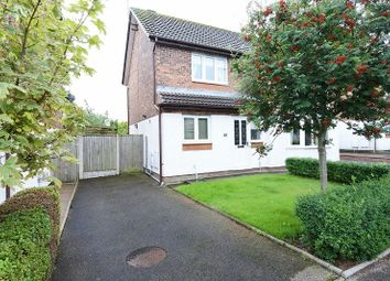 Thumbnail 2 bed semi-detached house for sale in Tribune Drive, Houghton, Carlisle