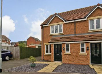Thumbnail 2 bed semi-detached house to rent in Violet Close, Huntington, Cannock