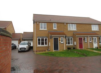 Thumbnail 3 bed end terrace house for sale in Jubilee Close, Cherry Willingham, Lincoln