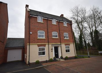 Thumbnail 4 bed detached house for sale in Bradgate Close, Narborough, Leicester