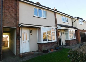 Thumbnail 2 bed terraced house for sale in Hyde Avenue, Stotfold, Herts