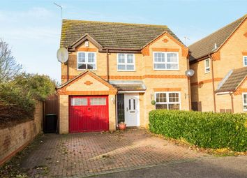 Thumbnail 4 bed detached house for sale in Tyler Way, Thrapston, Kettering, Northamptonshire