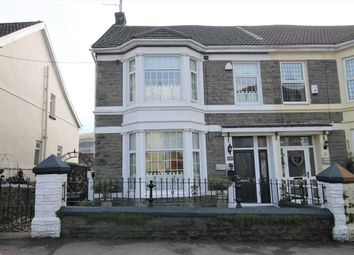 Thumbnail 4 bed semi-detached house for sale in Old Brithweunydd Road, Tonypandy