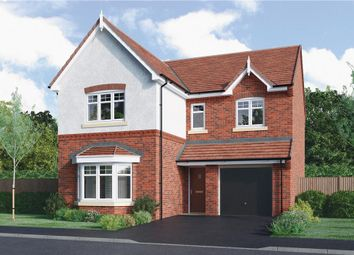 """Thumbnail 4 bed detached house for sale in """"Hartington"""" at Edwin Close, Cawston, Rugby"""