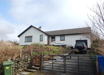 Thumbnail 3 bed detached bungalow for sale in Eabost West, Struan, Isle Of Skye