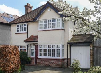 Thumbnail 3 bed detached house for sale in Manor Green Road, Epsom