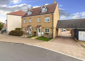 Thumbnail 4 bed semi-detached house for sale in Bridgefield, Ashford, Kent