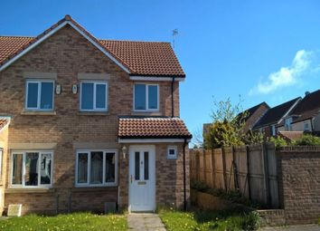 Thumbnail 3 bed semi-detached house for sale in Chestnut Way, Widdrington, Morpeth