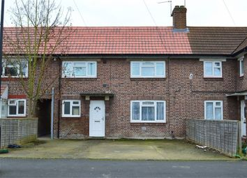 Thumbnail 3 bed terraced house to rent in Moulton Avenue, Hounslow, Middlesex