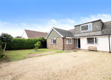 Thumbnail 3 bed bungalow for sale in Mill Road Avenue, Angmering, Littlehampton