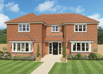 Thumbnail 5 bed detached house for sale in Whichers Gate Road, Rowlands Castle, Hampshire