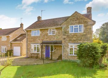 Thumbnail 4 bed detached house to rent in Stamford Road, Barnack, Stamford