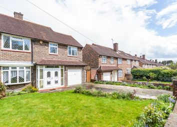 Thumbnail 4 bed semi-detached house for sale in Furzehill Road, Borehamwood