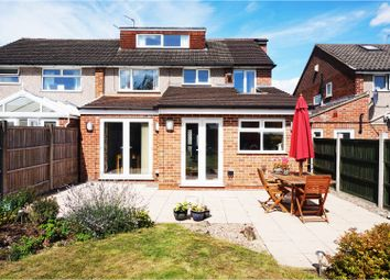 Thumbnail 3 bedroom semi-detached house for sale in Brisbane Road, Mickleover