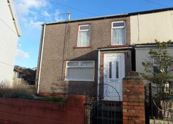 Thumbnail 2 bed semi-detached house for sale in Gilfach Cynon, Twyn, Merthyr Tydfil