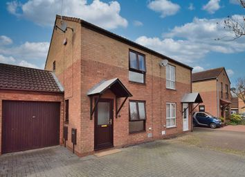 Thumbnail 2 bed semi-detached house for sale in Christian Court, Willen