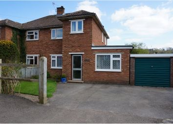 Thumbnail 3 bed semi-detached house for sale in Victoria Road, Crowborough