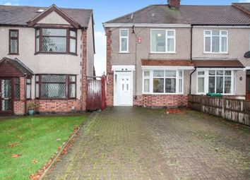Thumbnail 3 bed end terrace house for sale in Brownshill Green Road, Coundon, Coventry, West Midlands
